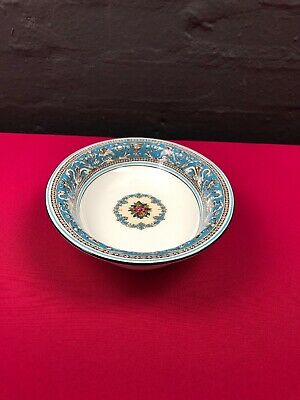 """Wedgwood Florentine Turquoise Oval Vegetable Serving Dish 10"""" x 7.5"""" W2714"""