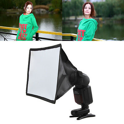 Speedlight Softbox 15*17cm Mini Lightweight Outdoor Diffuser Universal Portable