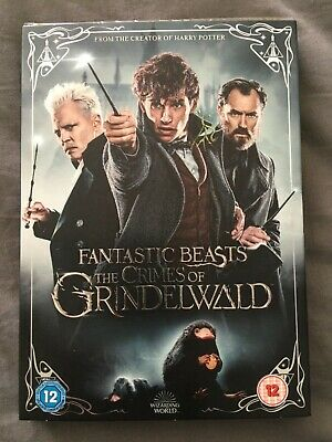 Fantastic Beasts The Crimes of Grindelwald. DVD New sealed