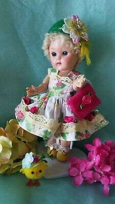 vintage reproduction Ginny Muffie outfit 8 inch 7 inch doll clothes