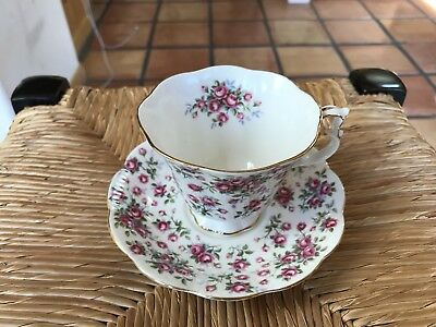 Royal Albert Bone China Chelsea Nell Gwynne Series Tea Cup Saucer