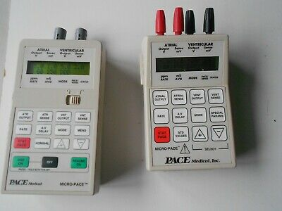 2 x Pace Medical Micro-Pace 4580 Pacer.and Dual Chamber 4570.Free UK P&P.