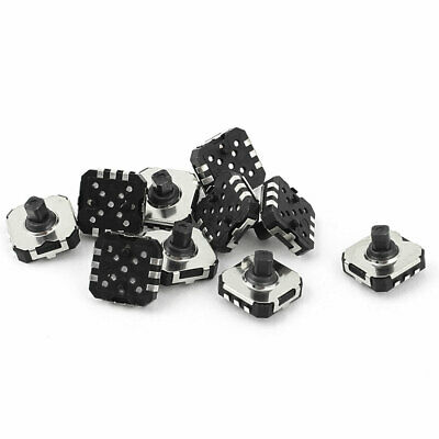 10 Pcs 6 Pin 5 Way Momentary Push Button SMD SMT Mini Tactile Switch