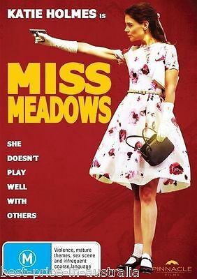 Miss Meadows DVD  KATIE HOLMES Cult Thriller / Horror BRAND NEW R4