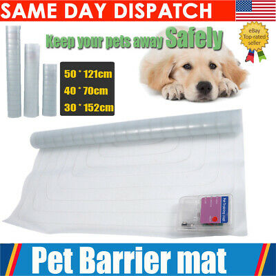Indoor Pet Training Dog Cat Barrier Repellent Shock Scat Mat Safe Pad S M L NEW