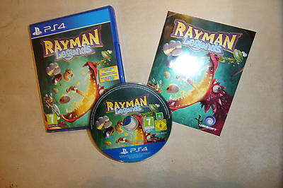 Playstation 4 Ps4 Game Rayman Legends Complete Pal Disc Excellent Near Mint Gwo