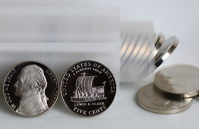 2004 Roll Proof Keel Boat Nickel 40 Coins Lewis & Clark Five Cent ROLL