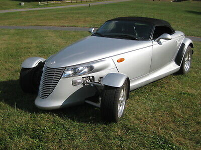 2001 Plymouth Prowler  Turbocharged Plymouth Prowler Low Miles, Garaged, Mint Condition