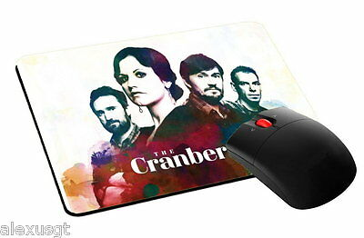 mouse pad, tappetino mouse THE CRANBERRIES  music rock pc computer desktop