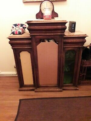 Antique French Breakfront Sideboard