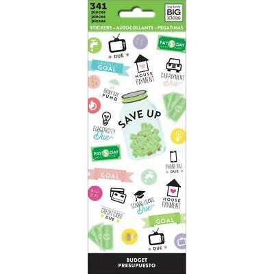 Happy Planner Icon Sticker Book : Budget 341 stickers in this pack! Planner