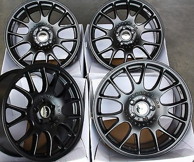 """Alloy Wheels X 4 18"""" Black Ms Fits Ford 5X108 Focus Mondeo Transit Connect Edge"""