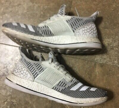 856ee24fe Adidas PURE BOOST ZG BB3912 Mens Running Shoes Gray white Size 11 US Men s