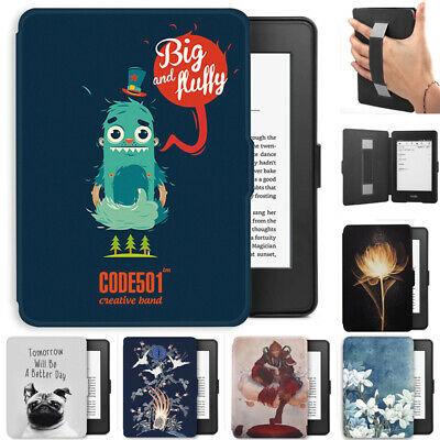 "21 designs Kindle Paperwhite 2018 6"" 10th Gen Case with Strap Pattern Cover"