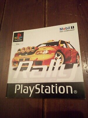 Ps1 Rally Campionship NUR Anleitung PAL Kein Spiel Playstation 1 no Game