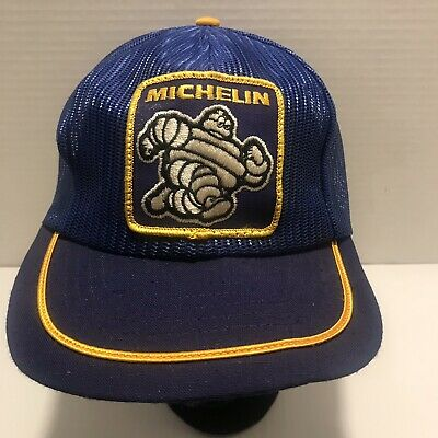 Vintage Michelin Tires Trucker Hat Mesh NEW Never Worn Patch