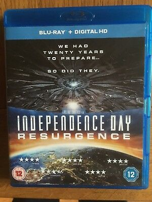Independence Day Resurgence Blu ray