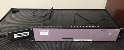Miranda CR3232-AV Analog video Router 32 X 32 compact Router Nvision pro video