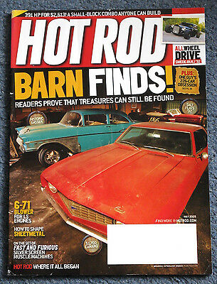 Hot Rod Magazine May 2009 Barn Finds Fast & Furious AWD Rod Dodge Chargers