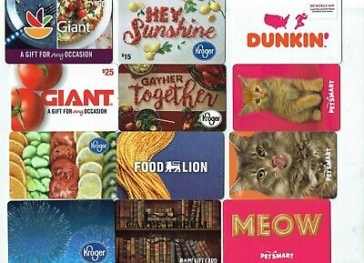 HANUKKAH Collectible Gift Card - LOT of 3 - Dunkin Donuts, Macy's,BBB ~ No Value
