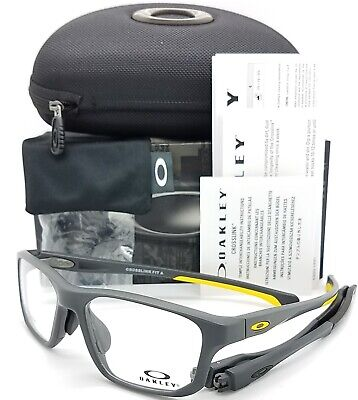 0db1bb9ba0 NEW Oakley Crosslink Fit RX Frame Satin Pavement OX8142-0356 56mm AUTHENTIC  8142