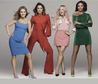 Spice Girls 2 X Zigazig Ah VIP Standing Tickets Edinburgh 8th June