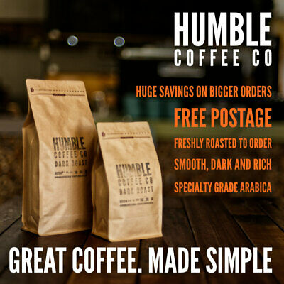 Humble Coffee Co - Dark Roast specialty roasted coffee beans