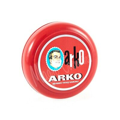 Arko Shaving Soap in Bowl, Classic Wet Shaving, 90g
