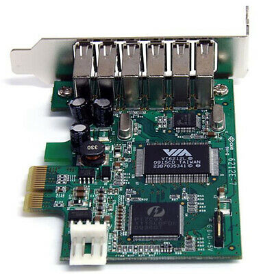 StarTech.com 7 Port High Speed USB2.0 PCI Express Schnittstellenkarte - Low Prof