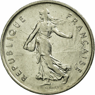[#586642] Monnaie, France, Semeuse, 5 Francs, 1970, Paris, TTB, Nickel Clad