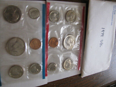 1979 United States U.S. Mint Uncirculated Coin Set 12 Coins D & P