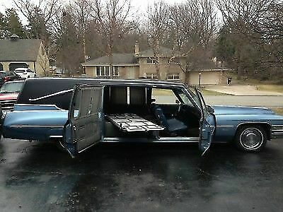 1973 Cadillac Fleetwood Hearse 1973 Cadillac Superior Hearse Wagon V8 Automatic Clear Title Awesome Project