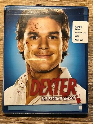 Dexter - The Complete Second Season (Blu-ray Disc, 2009, 3-Disc Set)