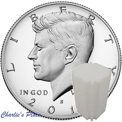 2019-S Silver Proof Kennedy Half-Dollar 10-Coin Roll (Presale)