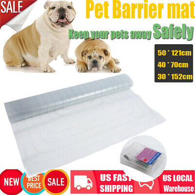 Pet Training Mat Electronic Barrier Repellent Pet Shock Scat Dog Cat Safe Pad US
