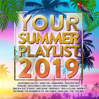 Your Summer Playlist 2019 Various Artists 2 CD NEW