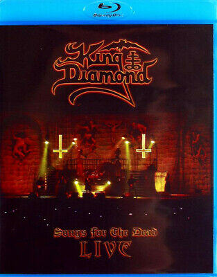King Diamond - Songs For The Dead Live BLU-RAY SEALED Heavy Metal MERCYFUL FATE