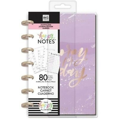 Happy Planner: Mini Size Journaling Notebook: Hooray For Today Bullet Journal