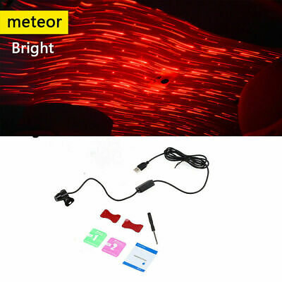 USB Red LED Projector Star Light Car Interior Atmosphere Ambient Lamp Home Party