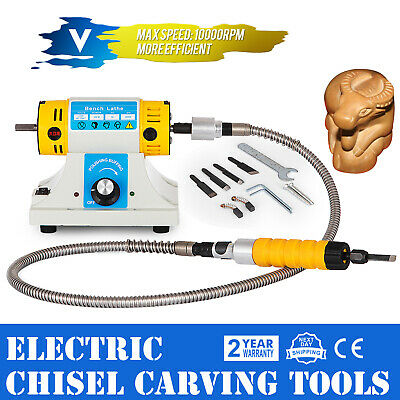 Electric Chisel Carving Tools Wood Chisel Carving Machine Kit Engraving 220V