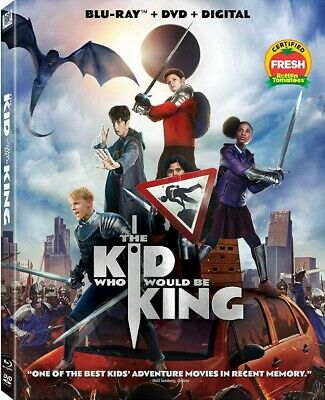 The Kid Who Would Be King Blu ray,case and artwork ONLY Ship 4/16/2019