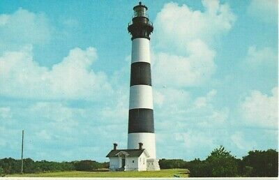 Postcard - NC - North Carolina Outer Banks Bodie Island Lighthouse