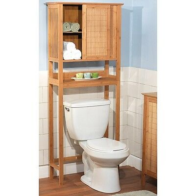 Over Toilet Cabinet Bathroom Storage Rack Space Saver