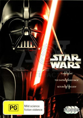 Star Wars Trilogy - A New Hope / Empire Strikes Back / Return Of The Jedi