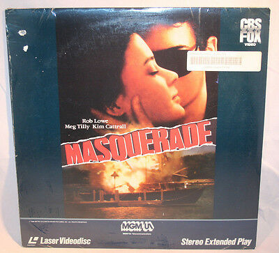 Laserdisc [F] * Masquerade * Rob Lowe Kim Cattrall Meg Tilly Extended Play New