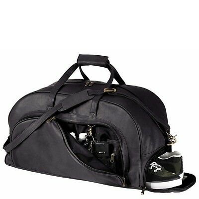 NEW Royce Leather Luxury Luggage Handcrafted in Colombian Leather Duffel Bag
