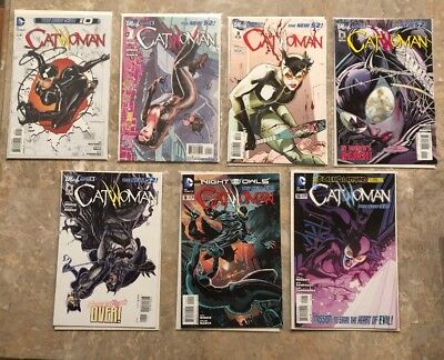 catwoman new 52 #0-1 3 5-6 9 19 15 31 34 36 38-49 Annual 2 23 Issues lot