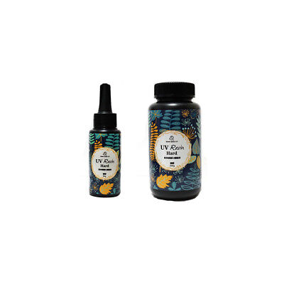 60/200g DIY UV Ultraviolet Resin Curing Solar Cure Sunlight Activated Hard EA