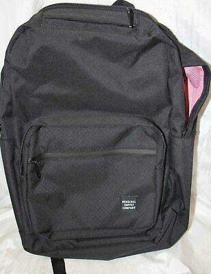 27fa8d9db HERSCHEL SUPPLY CO. Harrison Backpack Pack Black Grid Brand New With ...