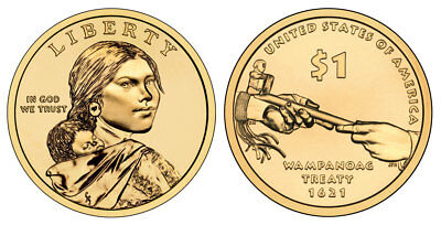 2011 P Sacagawea Dollar from US Mint Roll CP2146
